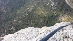 Rock Climbing Photo: view from the last belay.