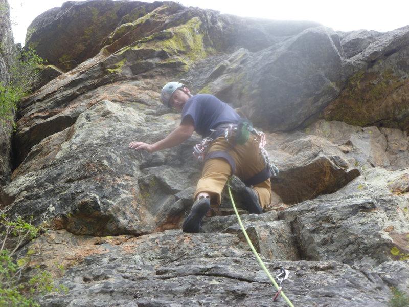 Rock Climbing Photo: Near the beginning.