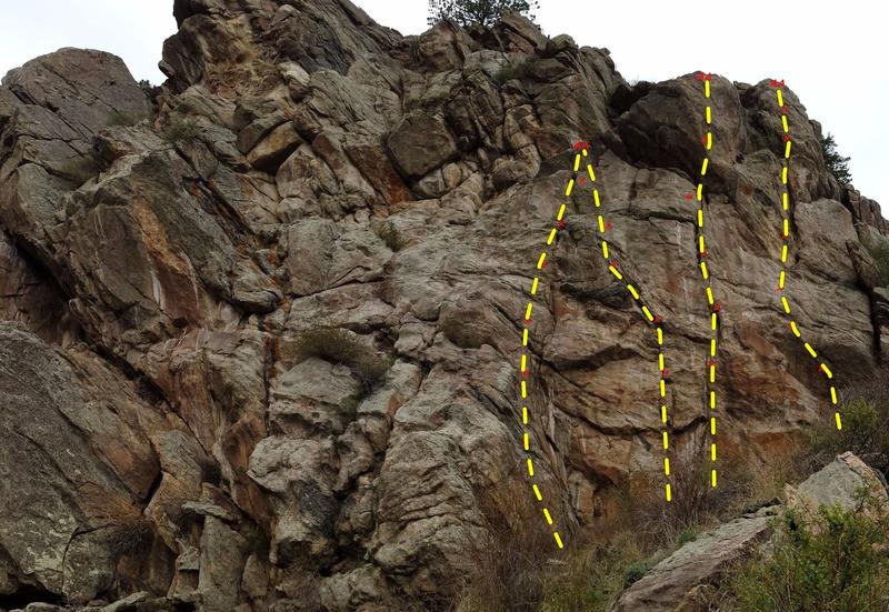 Rock Climbing Photo: LA