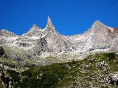 Rock Climbing Photo: Aiguille Dibona