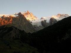 Rock Climbing Photo: La Meije from La Grave