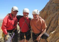 Rock Climbing Photo: Guys on top