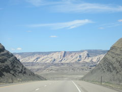 Rock Climbing Photo: The Road to the Sandstone Alps.