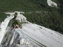 Rock Climbing Photo: aleta de tiburon - anfiteatro - cochamo