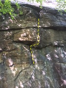 Rock Climbing Photo: Top of the route