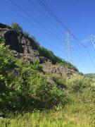 Rock Climbing Photo: POWERLINEZ, beautiful May day.