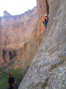 Rock Climbing Photo: escorpion