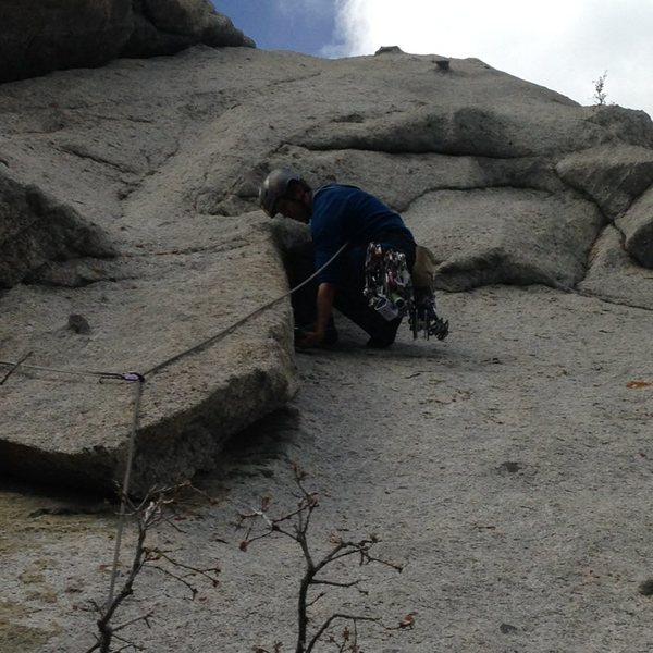 Rock Climbing Photo: Tingin it up