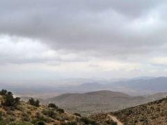 Rock Climbing Photo: The view into Apple Valley, San Bernardino Mountai...