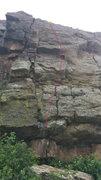 Rock Climbing Photo: Cheeseburger in Paradise.