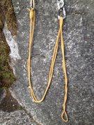Rock Climbing Photo: Shorten cord