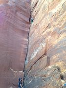 Rock Climbing Photo: when guidebook says just (3)4.0, and you rack with...