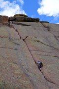 Rock Climbing Photo: chug-a-lug chug-a-lug vedauwoo woo! the little eng...