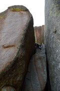 Rock Climbing Photo: then you're pretty much there