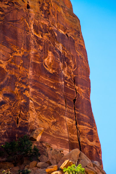 Rock Climbing Photo: Maverick Buttress, Long Canyon