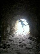 Rock Climbing Photo: better yet... the dwarvian portal somewhere along ...