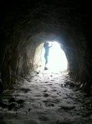 Rock Climbing Photo: daydreamin'... the dwarvian portal somewhere along...