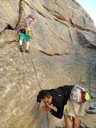 Rock Climbing Photo: why yes, sometimes i do the happy dog wiggle when ...