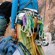 Rock Climbing Photo: wondering why I have so many slings? because thems...
