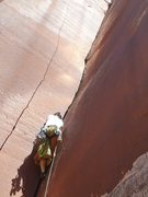 Rock Climbing Photo: warkin' it on no name, the size of my weakness, me...