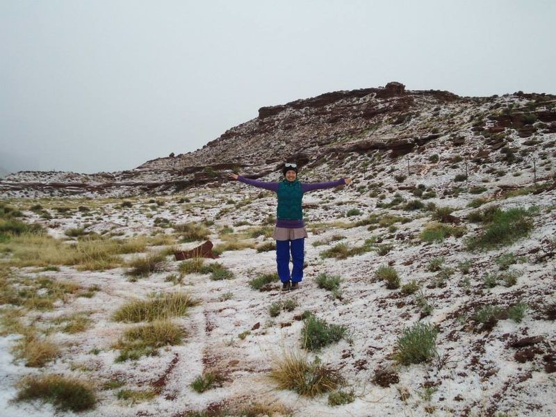 did the desert just go to hail in a handbasket? indian creek hailstorm mid april 2014