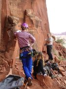 Rock Climbing Photo: what you see right there is hand sizes 1.0, 2.0, a...