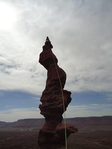 Rock Climbing Photo: sittin' on the tip... may 2014