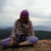 Rock Climbing Photo: just sittin' with my bits like the Buddha sits and...