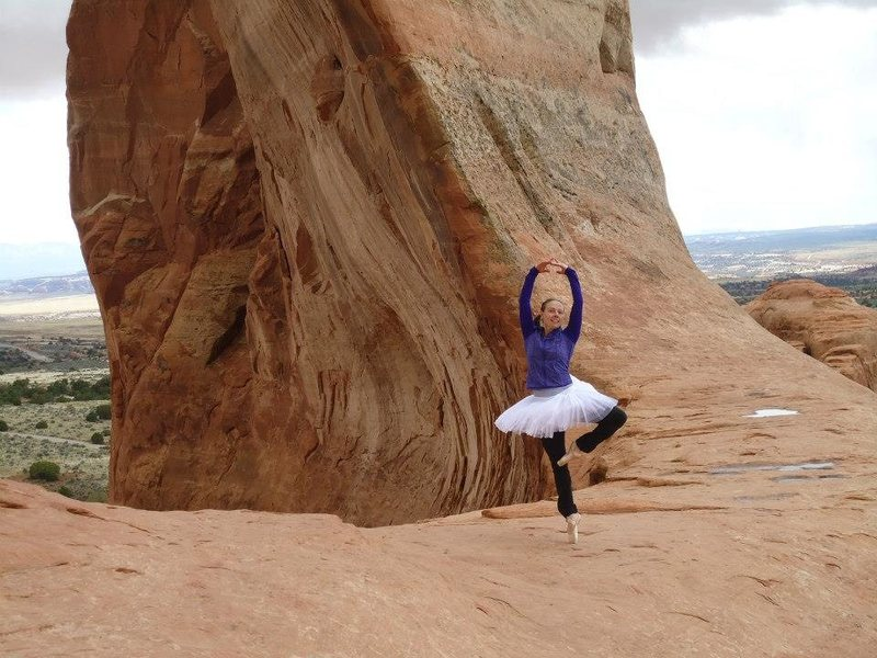 tutu much... Wilson arch, moab, ut. april 2014
