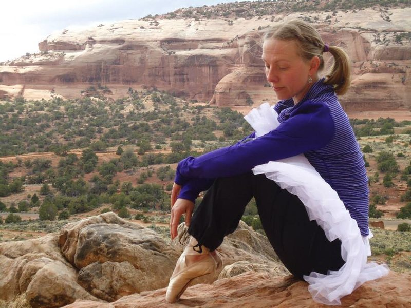 tutus, pointe shoes, and sandstone arches, and perhaps some pensive bits... Wilson arch, moab, ut. april 2014
