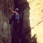 climbing at minniehaha
