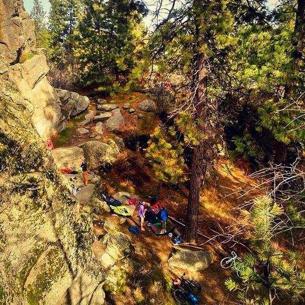 Rock Climbing Photo: More minniehaha shots