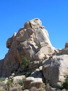 Rock Climbing Photo: The northwest side of Rock Hudson, Joshua Tree NP