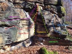 Rock Climbing Photo: Krak routes