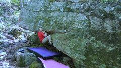 Rock Climbing Photo: The Sit start