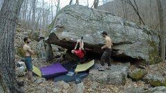 Rock Climbing Photo: Start to the Original Cascadia corner