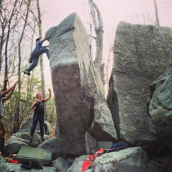 Boulders off of Hesperus Ave