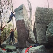 Rock Climbing Photo: Boulders off of Hesperus Ave
