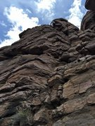 Rock Climbing Photo: Access to the top.   There is also an easier way f...