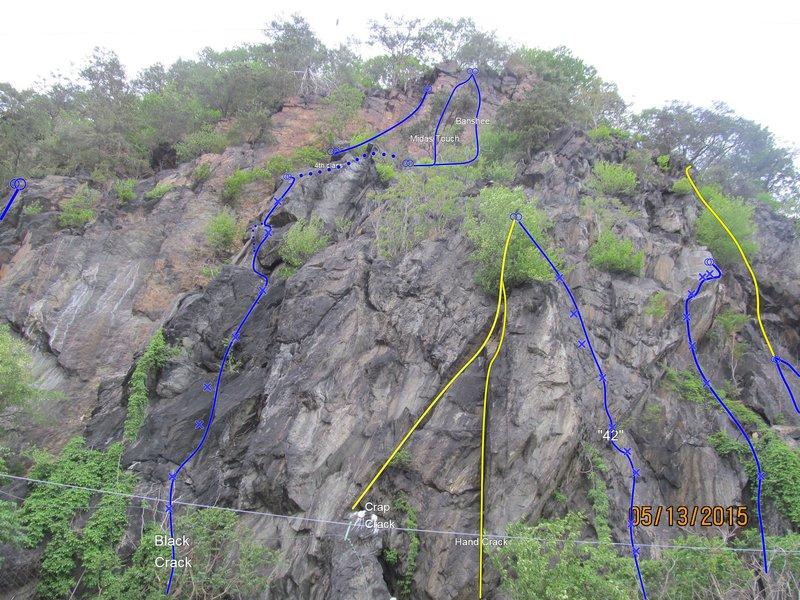 Rock Climbing Photo: Alpine Topo