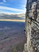 Rock Climbing Photo: Dec 29th, 2014. 35 degrees out.  Photo credit: Jor...