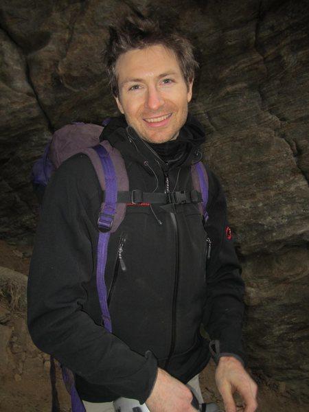 Climbing at Farley Ledge, MA