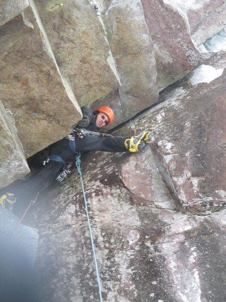 Rock Climbing Photo: The Mongol (M7), NH