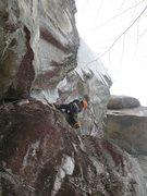 Rock Climbing Photo: Beautiful and rarely climbed. The Mongol (M7)