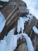 Rock Climbing Photo: Within reason (WI6, Frankenstein)