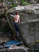 Rock Climbing Photo: Sorry for the nudity.  1) The Dainty Morsel 2) Aro...