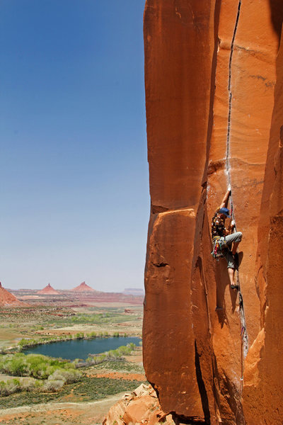 Rock Climbing Photo: Patrick O'Connell on Scarface  benjamin-mackall.sq...