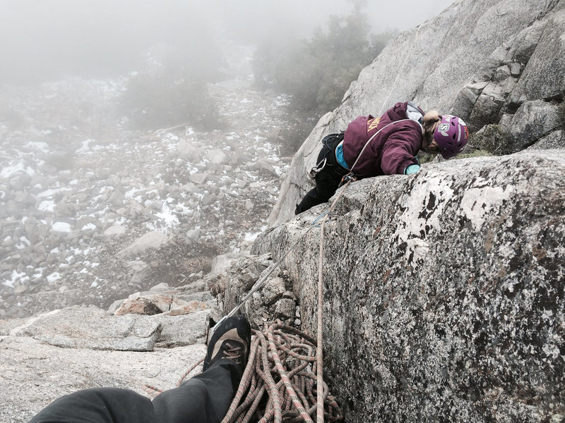 Rock Climbing Photo: Amanda is 'getting it', whatever 'it' is. As you c...