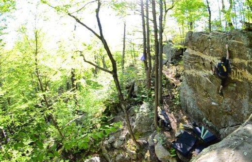 Shaffer Bouldering. Photo by MrLittleBear.
