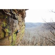 "Rock Climbing Photo: Tyler Casey on ""Gracious Grant""  Photo: ..."